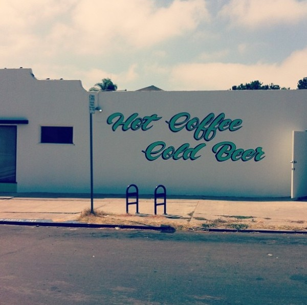 young hickory to bring hot coffee and cold beer to North Shore San Diego