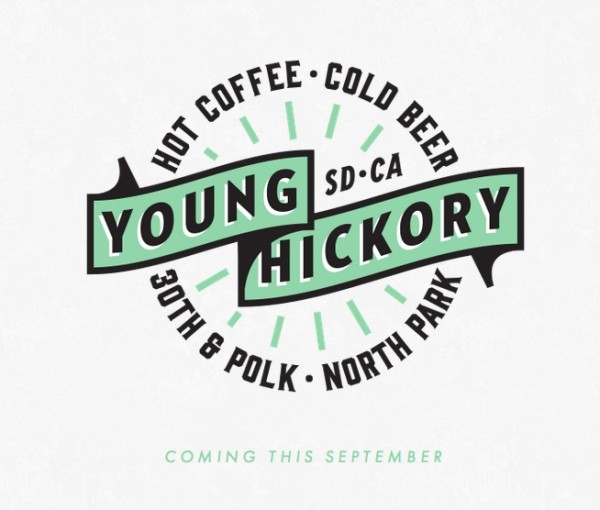 young hickory cold beer hot coffee