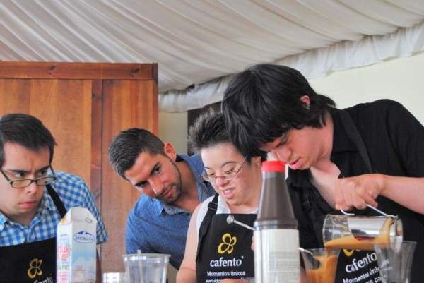 Cafento hosts down syndrome barista competition