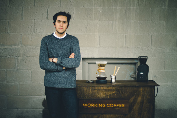 chris tellez of working coffee