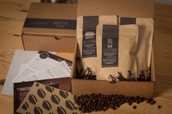 The Roasters Pack curated subscription package.