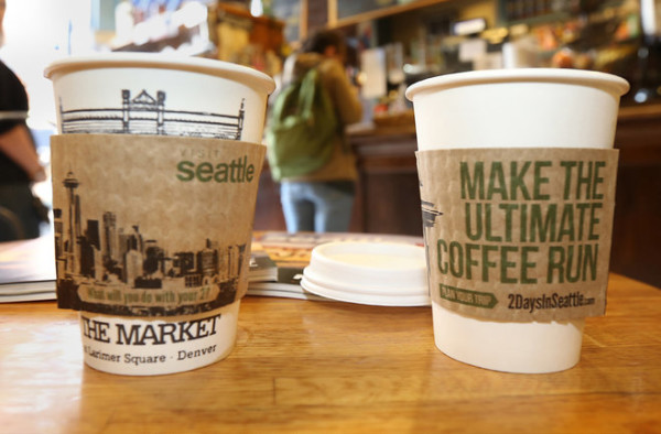 With Superbowl Wounds Still Fresh, Seattle Buys Coffee for Denver