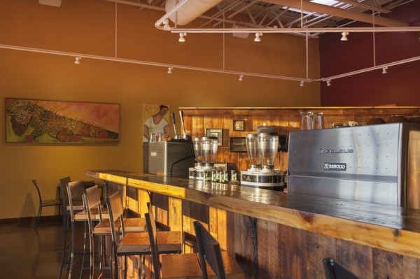 Coffee by Design in Portland, Maine. Photo by Lindsay Heald.
