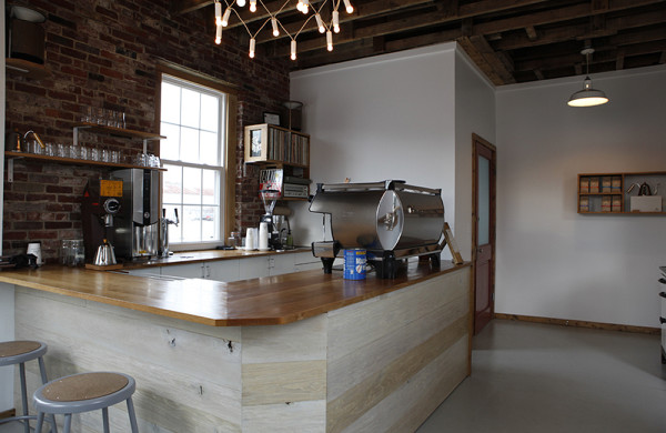 Tandem's existing roastery and cafe in East Bayside