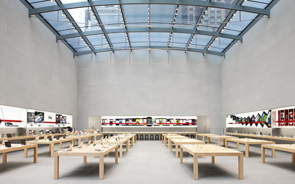 apple store tables