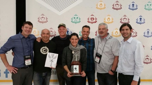 Say Hello to Your 2014 U.S. Barista and Brewers Cup Champions: Ghambari and Goldsworthy