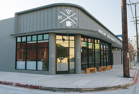 The Handsome Coffee Roasters Los Angeles store
