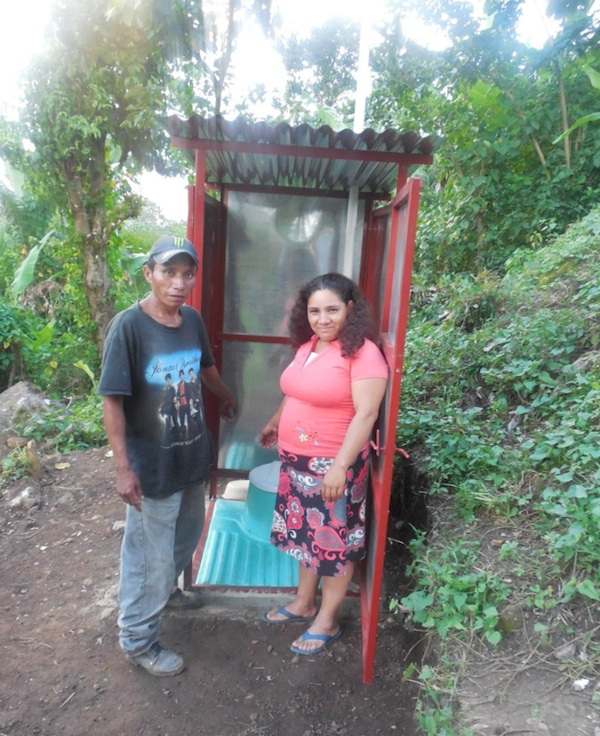 This toilet was built by farmworkers for farmworkers, creating an essential service but also a sense of empowerment.