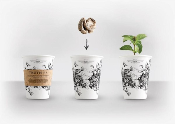 This Award-Winning Coffee Cup is Also a Self-Contained Garden