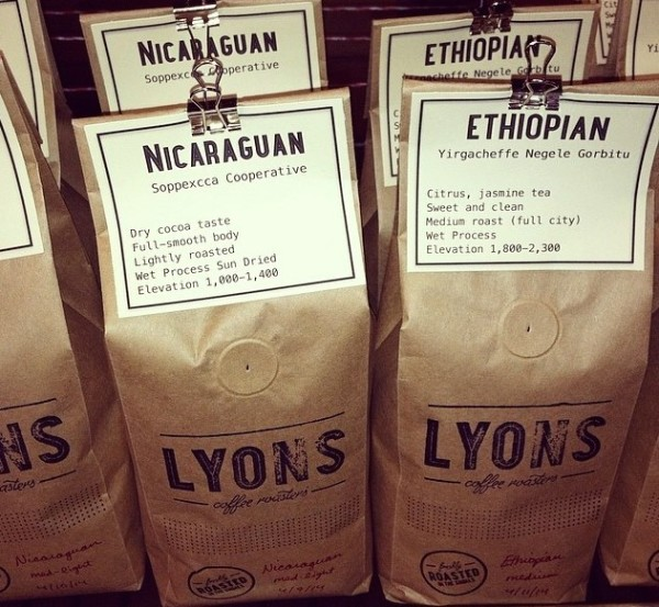 lyons coffee roasters alabama
