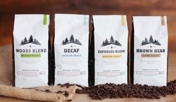 Woods roasted coffee Bellingham lynden