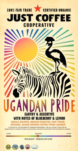 Just Coffee Launches 'Ugandan Pride' to Help Fight Anti-Homosexuality Law