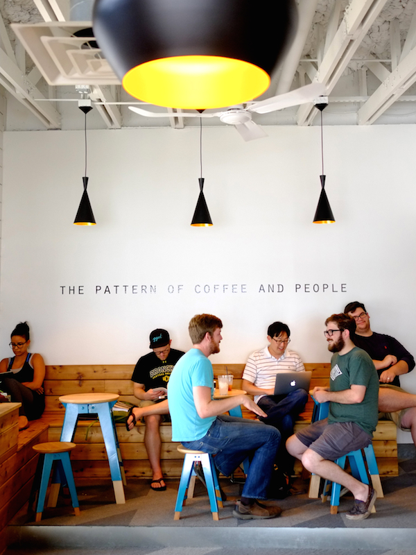 Houndstooth Coffee in Dallas. All photos courtesy of Houndstooth Coffee
