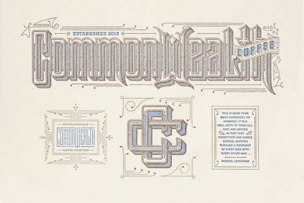 Commonwealth branding. Image courtesy of Kevin Cantrell Design.