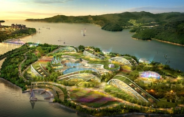Coming to South Korea: A $97 Million Coffee Theme Park and Resort
