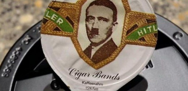 Swiss Company Feels Real Bad for Putting Hitler on Its Coffee Creamers