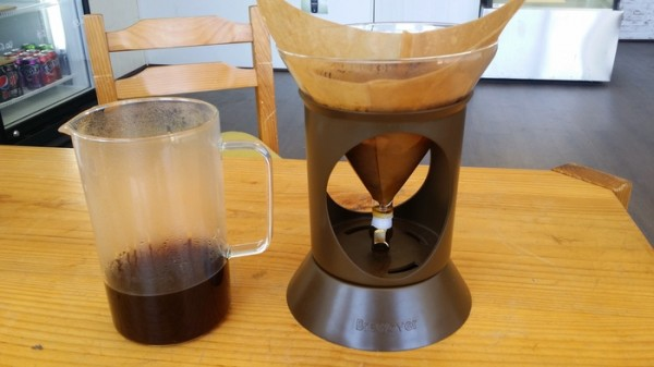 The pourover setup