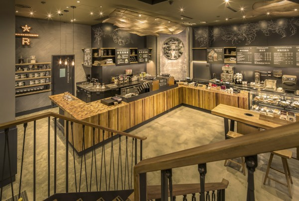 Starbucks Reserve brand China store