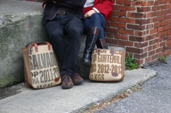 coffee bags totes