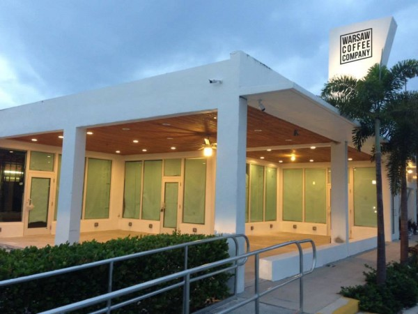 Coming to South Florida: 3,800-Square-Foot Warsaw Coffee