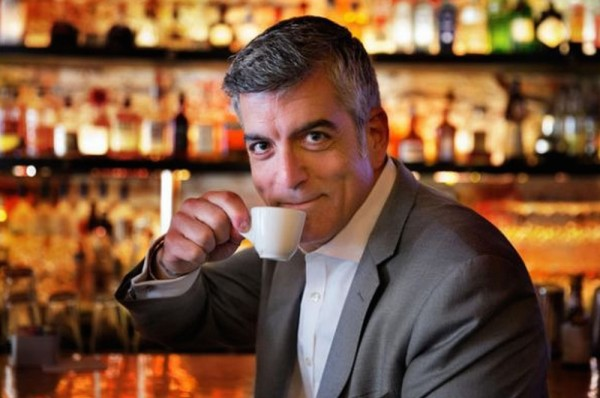 This Man is Not George Clooney and He is Not Drinking Nespresso