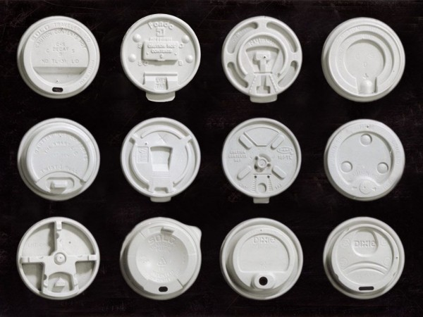 coffee cup lid collection