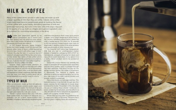 "Inside ""The Curious Barista's Guide to Coffee."" Photo by Addie Chinn."