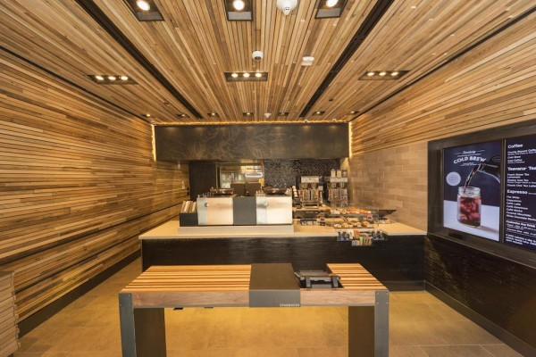 Starbucks Debuts Mini Hyper-Speed Store Concept on Wall Street