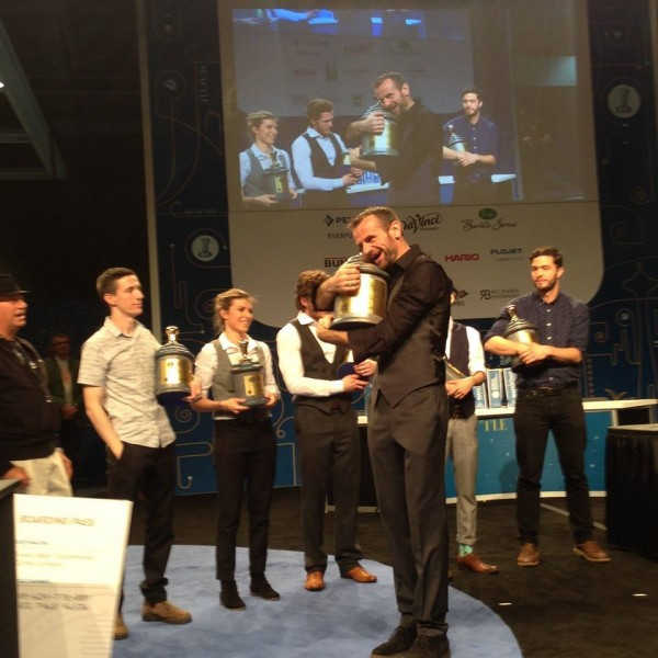 Australia's Sasa Sestic is the 2015 World Barista Champion