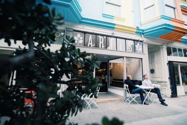 Artis Coffee in Hayes Valley