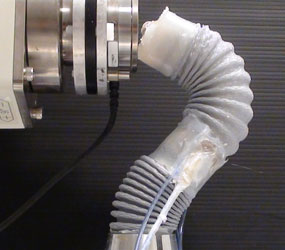 This Creepy Robotic Octopus Arm Used to Hold Organs Needs Coffee