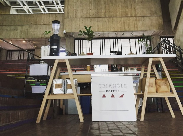 A Triad of Triangle Coffee Carts Tailoring to Tastes in Three Unique Boston Spots