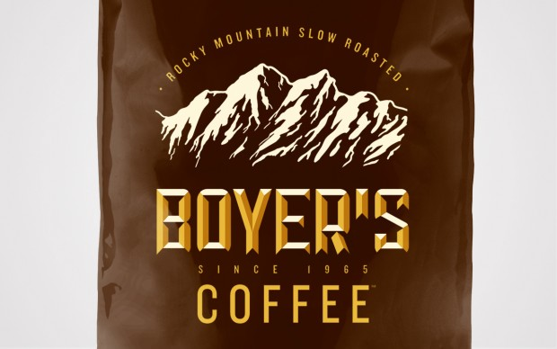 Boyer's coffee logo brand