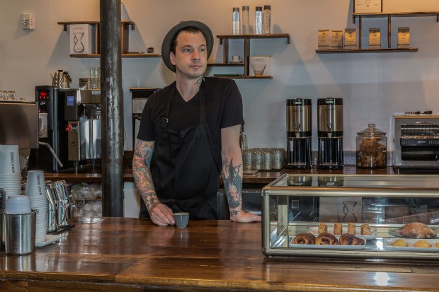 From Blue Bottle to Carolina Blue: Shaw Sturton's Gray Squirrel Coffee in N.C.