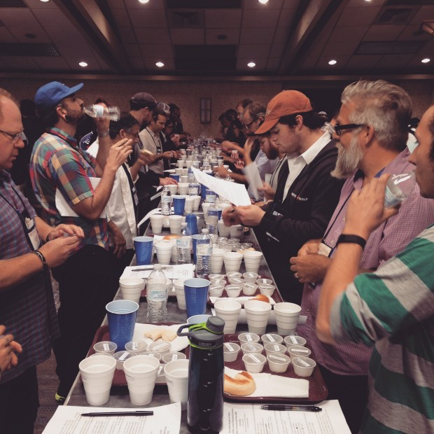 SCAA cupping
