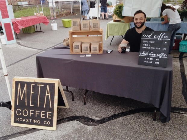 Meta Coffee at the Brookside Farmers Market