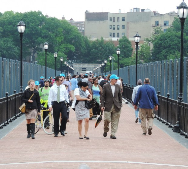 The High Bridge reopened as a pedestrian walkway in June 2015