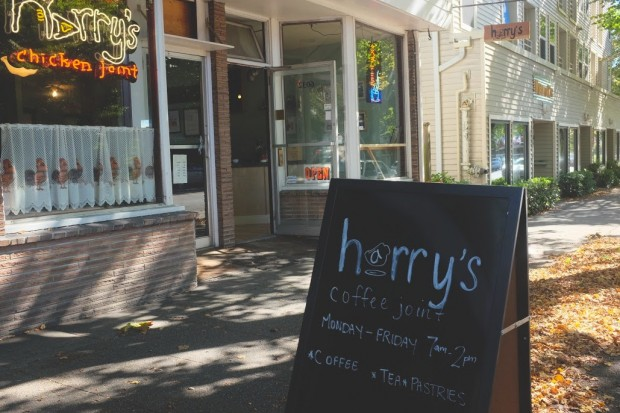 Harry's Chicken Joint in Seattle is Also Now a Coffee Joint