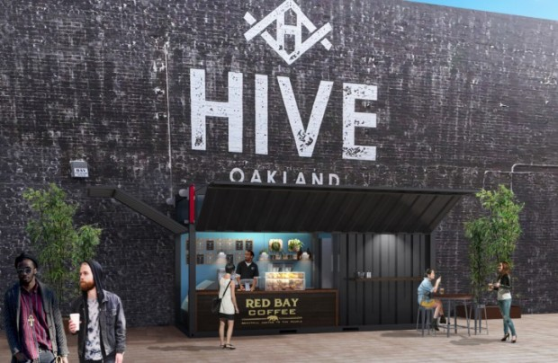 Rendering of the forthcoming location at The Hive by Gensler Architects