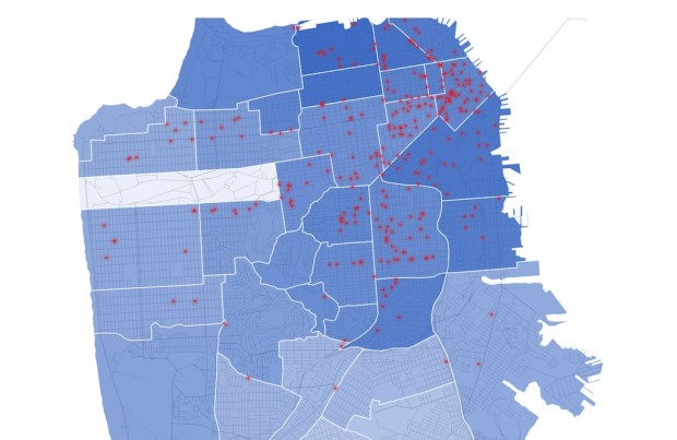 map sf coffee shops