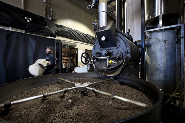 The Di Bella Coffee Brisbane roasting facility