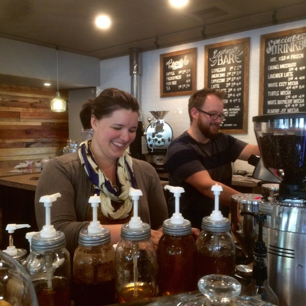 Tim and Emily of Artisan Coffee