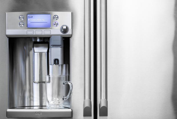 GE Appliances Releases Refrigerator with Built-In Keurig K-Cup System