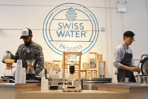 In Defense of Decaf: The Swiss Water Pop-Up in NYC