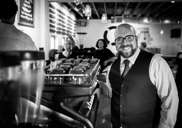 Billy Kangas. Photo by Amy Kimball Photography (amykimballphotography.com), courtesy of Cultivate Coffee & TapHouse