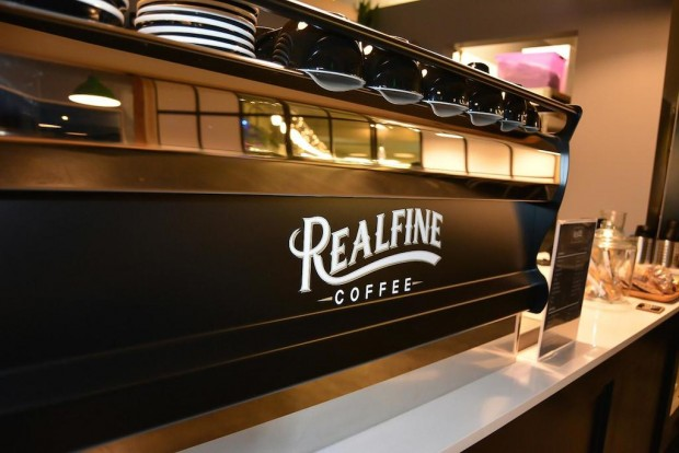 Realfine Coffee. Photo by Nicole A. Romstadt.