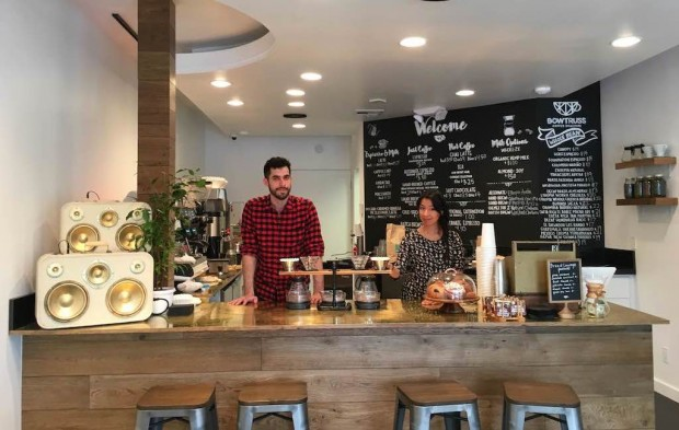 Chicago's Bow Truss Coffee Roasters Goes All 90210