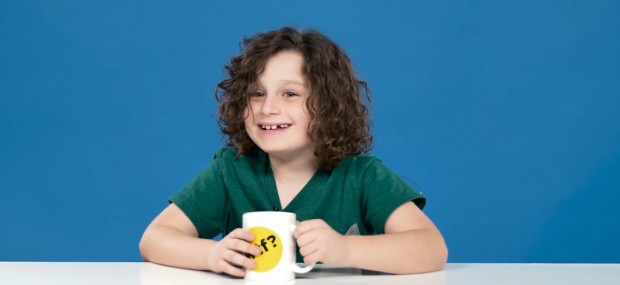 Kids Drinking Coffee for the First Time (It Doesn't Go Too Great)