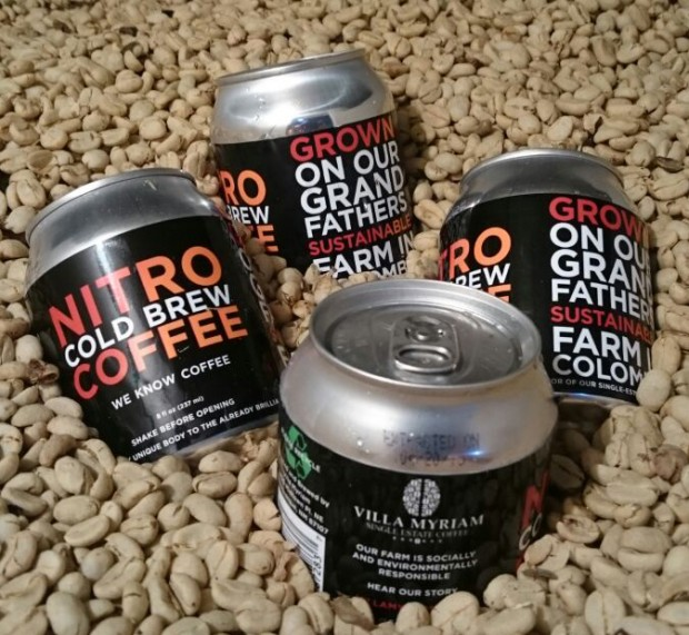 Villa Myriam Planning Nationwide Distribution for Canned Nitro Cold Brew