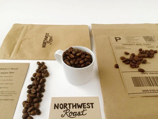 Northwest Roast's own roastery packaging and logo. All images courtesy of Northwest Roast.